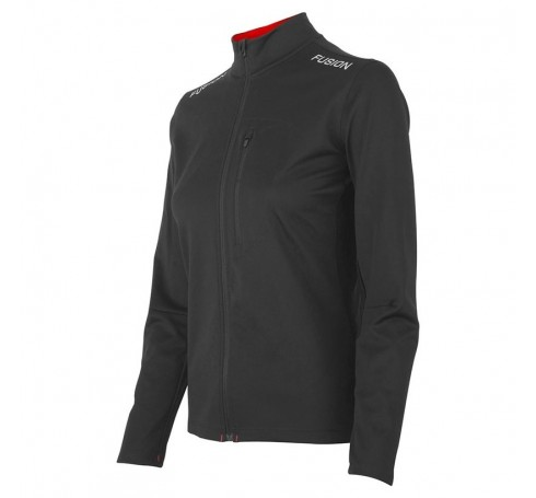 Fusion W S2 Run Jacket Dames Jassen Zwart
