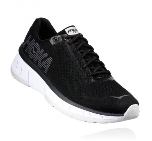 Hoka W Cavu Dames Schoenen Zwart
