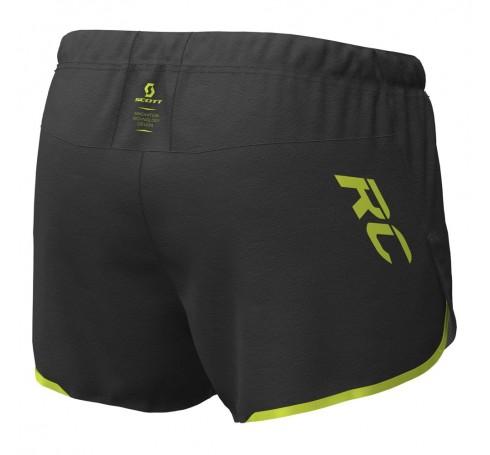 Scott RC Run Split Shorts Heren Broeken Zwart