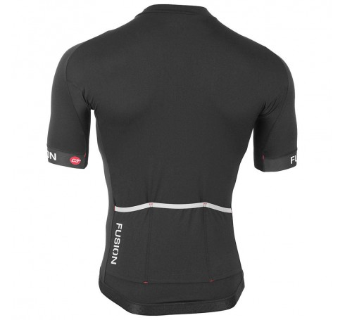 Fusion C3+ Cycling Jersey Heren Shirts & Tops Zwart