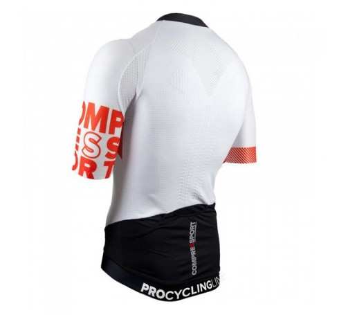 Compressport Cycling On/Off Shirt Heren Shirts & Tops Wit