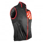Compressport Cycling Hurricane Wind Vest Heren Jassen Zwart