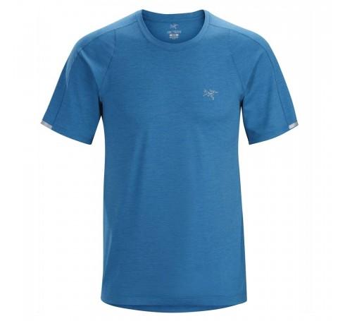 Arc'teryx Cormac Crew SS M Heren Shirts & Tops Licht blauw