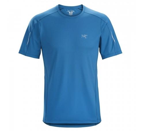 Arc'teryx Motus Crew SS M Heren Shirts & Tops Licht blauw
