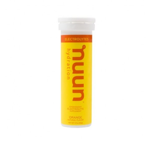 NUUN Electrolytes Orange  Trailrunning