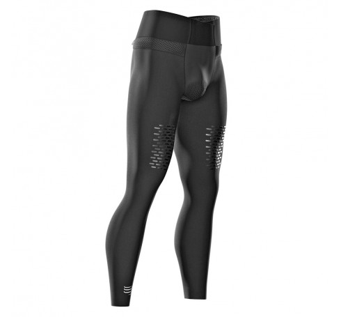 Compressport Trail Run Full Tights V3 Heren Broeken Zwart
