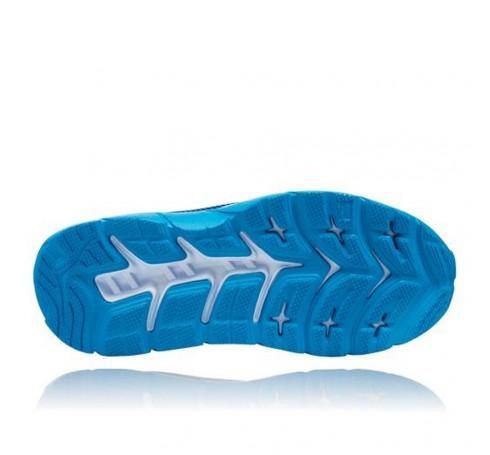 Hoka M Mach Heren Schoenen Blauw