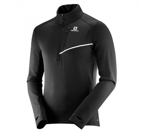 Fast Wing Mid M Heren Shirts & Tops Zwart