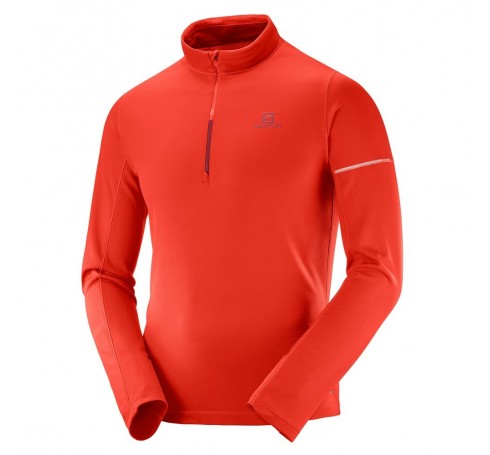 Agile Mid M Heren Shirts & Tops Rood