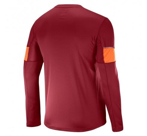 Agile LS Tee M Heren Shirts & Tops Rood