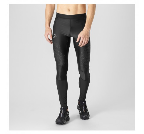 Fast Wing Long Tight M Heren Broeken Zwart