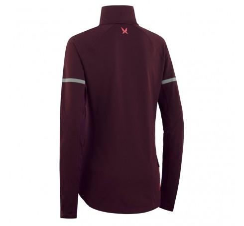 Kari Traa Emilie H/Z Dames Shirts & Tops Bordeaux