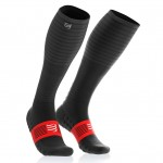 Compressport Full Socks Oxygen Uni Compressie Zwart