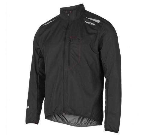 Fusion M S1 Run Jacket Heren Jassen Zwart
