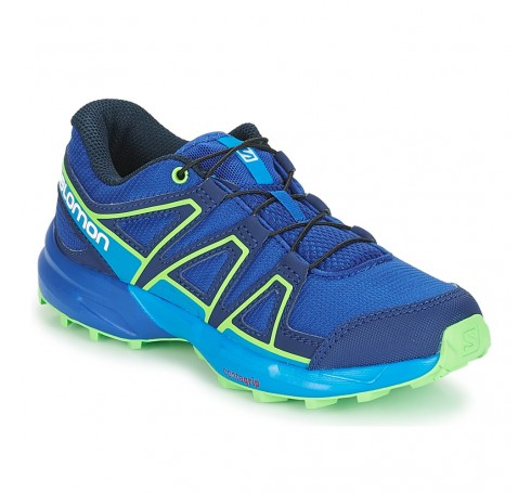 Speedcross J  Trailrunning Blauw