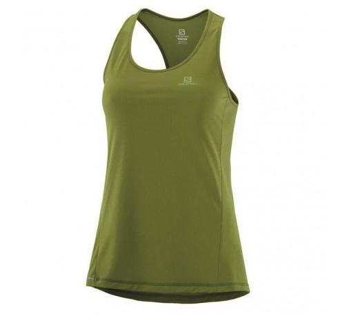 Agile Tank W Dames Shirts & Tops Groen