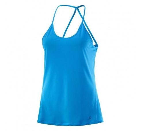 Comet Flow Tank W Dames Shirts & Tops Blauw
