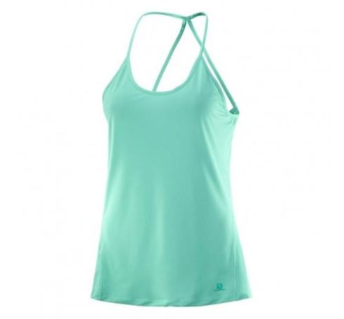 Comet Flow Tank W Dames Shirts & Tops Groen