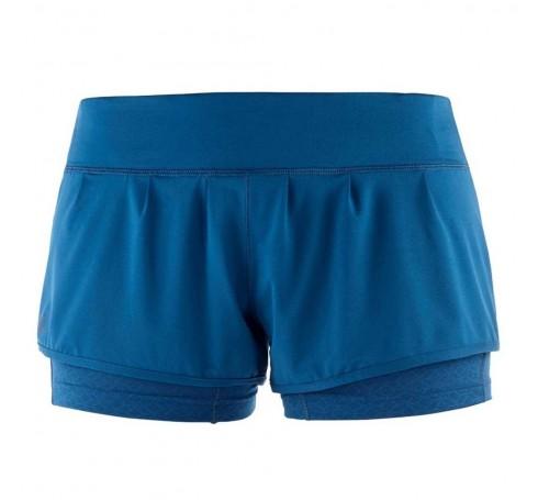 Elevate Aero Short W Dames Broeken Blauw