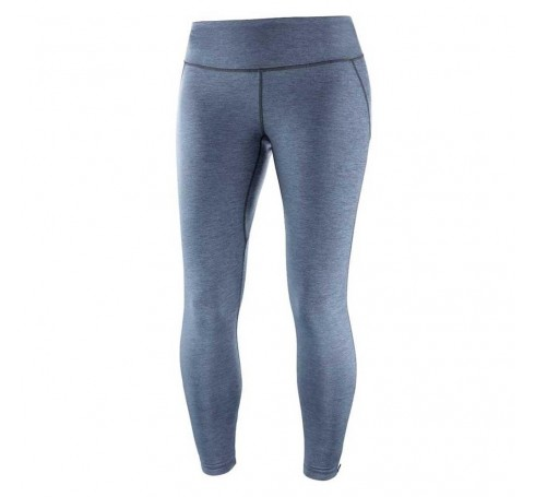 Agile Long Tight W Dames Trailrunning Blauw