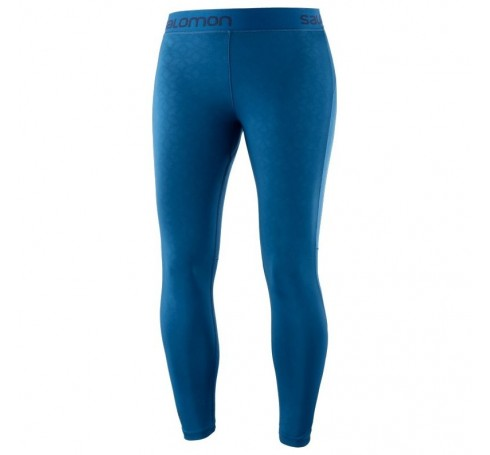 Elevate Aero 7/8 Tight W Dames Broeken Blauw