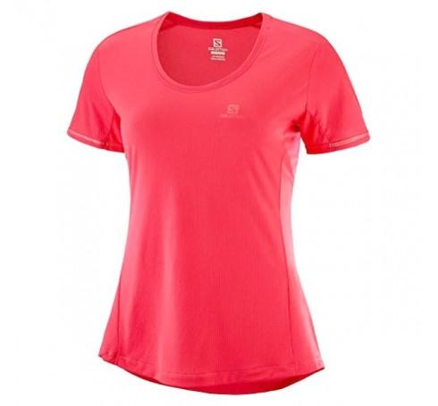 Agile SS Tee W Dames Shirts & Tops Roze