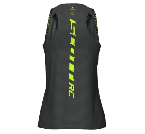 Scott W's RC Run Tank Dames Shirts & Tops Zwart