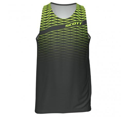 Scott RC Run Tank Heren Shirts & Tops Zwart