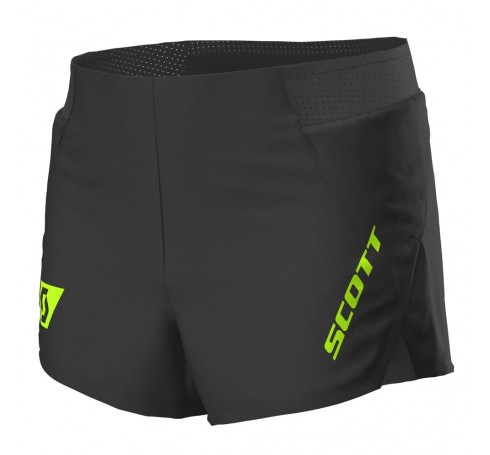 Scott RC Run Split Shorts Heren Broeken Zwart