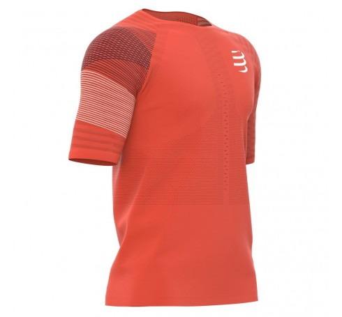 Compressport Racing SS T shirt M Heren Shirts & Tops Rood