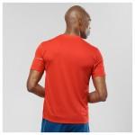 Agile SS Tee M Heren Shirts & Tops Rood