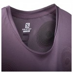 S-LAB NSO Tee M Heren Shirts & Tops Paars
