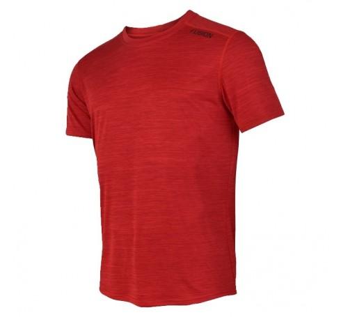 Fusion C3 T-Shirt Heren Shirts & Tops Rood