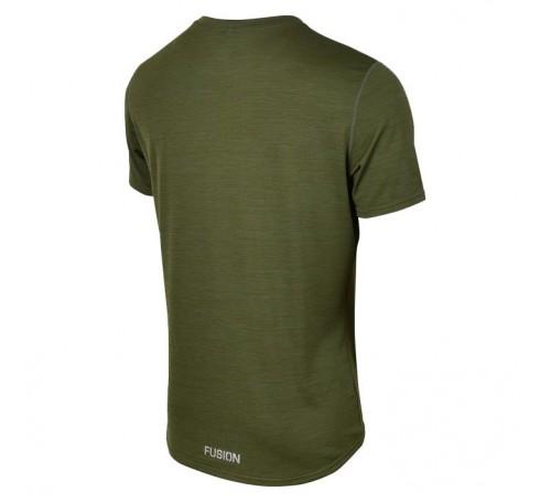 Fusion C3 T-Shirt Heren Shirts & Tops Groen