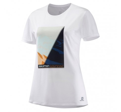 Comet Tee Mont Blanc W Dames Shirts & Tops Wit