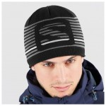 Flatspin Short Beanie  Accessories Zwart-grijs