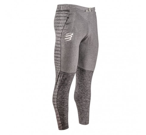 Compressport Seamless Pants Heren Broeken Grijs