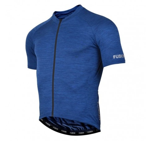 Fusion C3 Cycling Jersey Heren Shirts & Tops Blauw