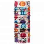 Buff Baby Original Buff Zoo Letters  Trailrunning Multicolor