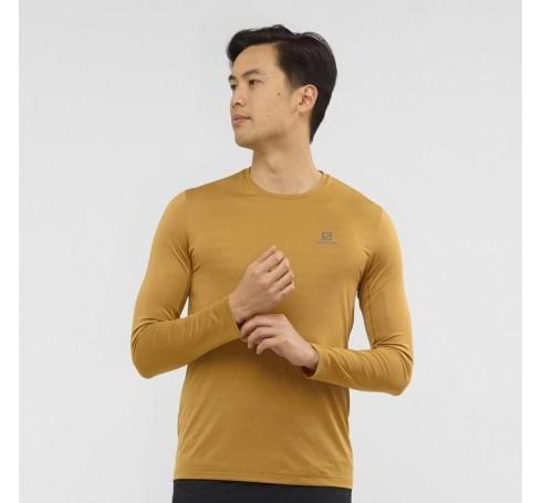 XA LS Tee M Heren Shirts & Tops Bruin