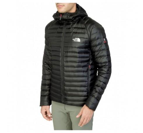 7ead459ce M Quince Pro Hooded Jacket Men Jackets Zwart - Trailrunshop