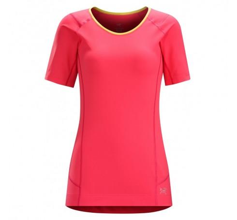 Arc'teryx Ensa SS W Dames Shirts & Tops Roze