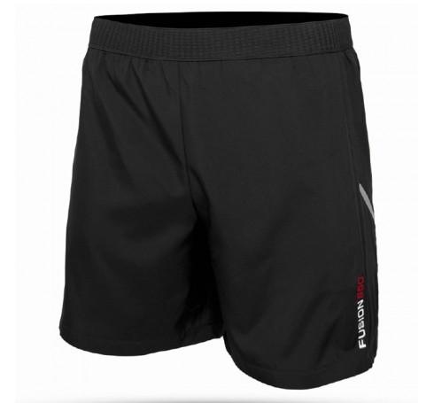 Fusion S50 Run Shorts Heren Broeken Zwart
